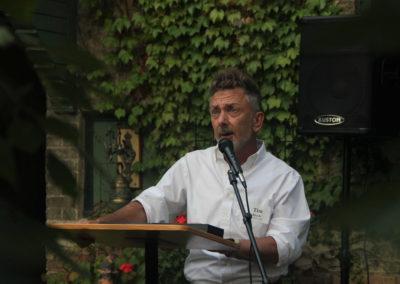 Tim speaking
