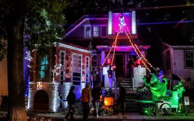 A&J's Halloween House